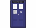 Doctor Who Classic Tardis Fleece Throw