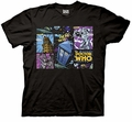 Doctor Who Comic Villains mens t-shirt pre-order