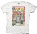 Doctor Who Dalek Comic Cover adult mens t-shirt pre-order