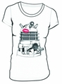Doctor Who Dalek Swak Juniors White T-Shirt pre-order