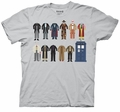 Doctor Who Doctor Outfits mens t-shirt