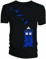 Doctor Who Falling Blocks Black T-Shirt pre-order