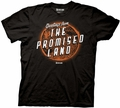 Doctor Who Greetings Promised Land mens t-shirt pre-order