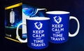 Doctor Who Keep Calm Travel Time Mug pre-order