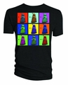 Doctor Who Psychedelic Squares Dalek T-Shirt pre-order