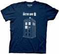 Doctor Who Series 7 Linear Tardis mens t-shirt pre-order