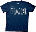 Doctor Who Street Crossing mens t-shirt pre-order