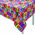 Doctor Who Tardis Warhol Tablecloth pre-order