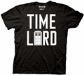 Doctor Who Time Lord Tardis mens t-shirt