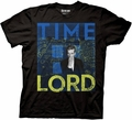 Doctor Who Timelord Primary Black T-Shirt pre-order