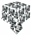 Doctor Who Weeping Angel Dont Blink Tablecloth pre-order