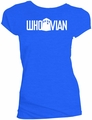Doctor Who Whovian Blue Womens T-Shirt pre-order
