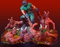 Doom Knee Deep In The Dead Resin Diorama pre-order