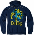 Dr Fate  pull-over hoodie Ankh adult navy