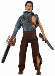 "Evil Dead 2 Hero Ash Retro Style Clothed 8"" action figure"