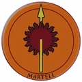 Game Of Thrones Embroidered Patch Martell pre-order
