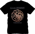 Game of Thrones t-shirt Targaryen Emblem mens black