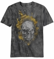 Ghost Rider Head Banger t-shirt men Charcoal River Wash pre-order
