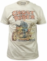 Ghost Rider t-shirt Hell on Wheels Soft Fitted 30/1 mens white pre-order