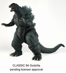 Godzilla Classic action figure 1994 version pre-order