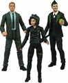 Gotham Select Action Figure Set of 3 pre-order
