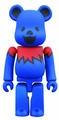 Grateful Dead Dancing Bear 400% Bearbrick Blue pre-order