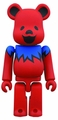 Grateful Dead Dancing Bear 400% Bearbrick Red pre-order