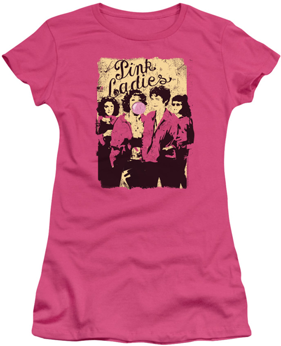 Grease juniors t-shirt Pink Ladies hot pink