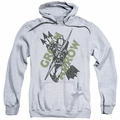 Green Arrow pull-over hoodie Archers Arrows adult athletic heather