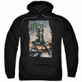 Green Arrow pull-over hoodie Fire And Rain adult black
