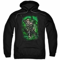 Green Arrow pull-over hoodie In My Sight adult black