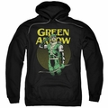 Green Arrow pull-over hoodie Pull adult black