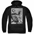 Green Arrow pull-over hoodie Trigger adult black