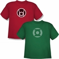 Green Lantern Youth Sized t-shirts and hoodies