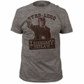Guardians of the Galaxy t-shirt Star Lord Legendary Outlaw Tri Blend mens heather tri-blend