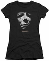Halloween II juniors t-shirt Mask black