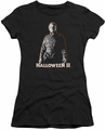 Halloween II juniors t-shirt Michael Myers black