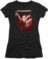 Halloween II juniors t-shirt Nightmare black