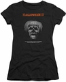 Halloween II juniors t-shirt Pumpkin Poster black