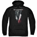 Halloween II pull-over hoodie Cold Gaze adult black