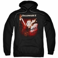 Halloween II pull-over hoodie Nightmare adult black