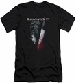 Halloween II slim-fit t-shirt Cold Gaze mens black