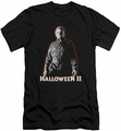 Halloween II slim-fit t-shirt Michael Myers mens black