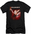 Halloween II slim-fit t-shirt Nightmare mens black