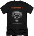Halloween II slim-fit t-shirt Pumpkin Poster mens black