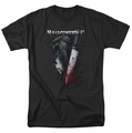 Halloween II t-shirt Cold Gaze mens black