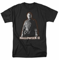 Halloween II t-shirt Michael Myers mens black