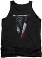 Halloween II tank top Cold Gaze mens black