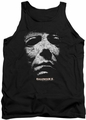 Halloween II tank top Mask mens black