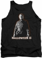 Halloween II tank top Michael Myers mens black